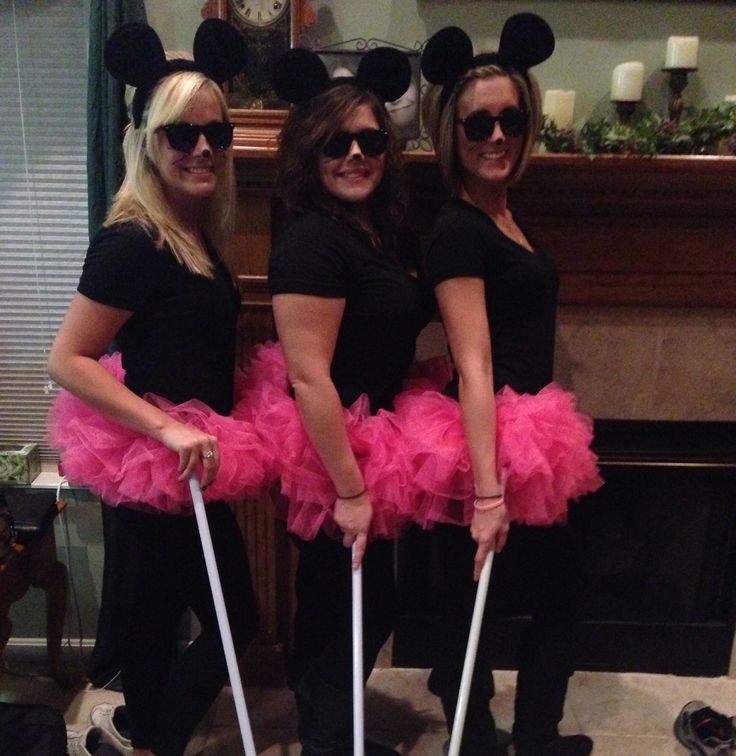 Three blind mice :)