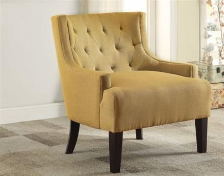 Dulce Retro Mustard Espresso Wood Accent Chair - 419 Best Accent Chairs Images On Pinterest