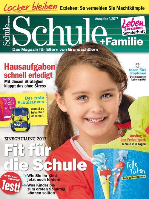 Das Magazin für Eltern von Grundschülern! Tipps für den #Schulranzen-Kauf, #Schultüten zum Selbermachen, Lernstrategien für die #Hausaufgaben. #Einschulung #Grundschule #Vorschule #Vorschulkind