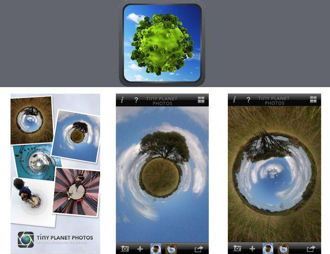 aplicaciones para instagram: Tinyplanet
