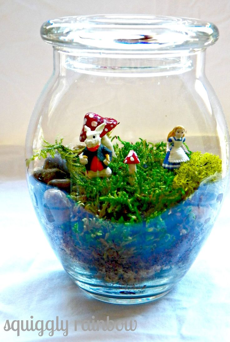 1000 ideas about honeypot on pinterest bee skep honey jars and bees for Alice in wonderland fairy garden