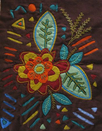 Nia Mola made by Kuna (Cuna) Indian people of Panama's San Blas Islands. More Pins Like This At FOSTERGINGER