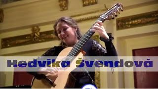 Hedvika Švendová: Rossiniana No 6-M.Giuliani 1st part   Hedvika Švendová began learning the guitar at the age of 4 with her mother Hana Švendová. Later she studied at the Elementary Art School in Choceň with Petra Poláčková and the Elementary Art School in Ústí nad Orlicí with Jiří Tomášek. Since 2011 she has been studying with Petr Saidl at the conservatory in Pardubice. Apart of receiving many prizes at guitar competitions she is also a holder of some special awards: for example the title…