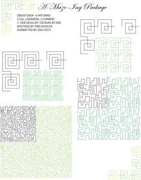 A-Maze-Ing Set 1 by Deb Geissler DBDSET0004