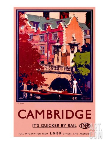 St. Johns, Cambridge Giclee Print by Fred Taylor at Art.com