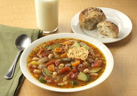 Yummy soup...