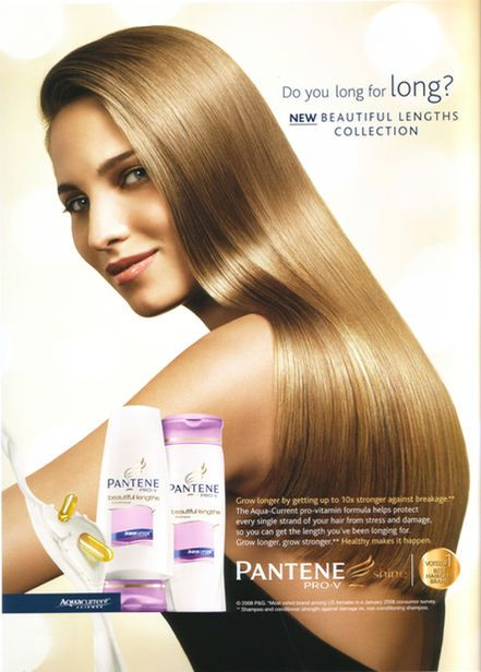 Pantene Advertising #beauty #hair #natural #advertising