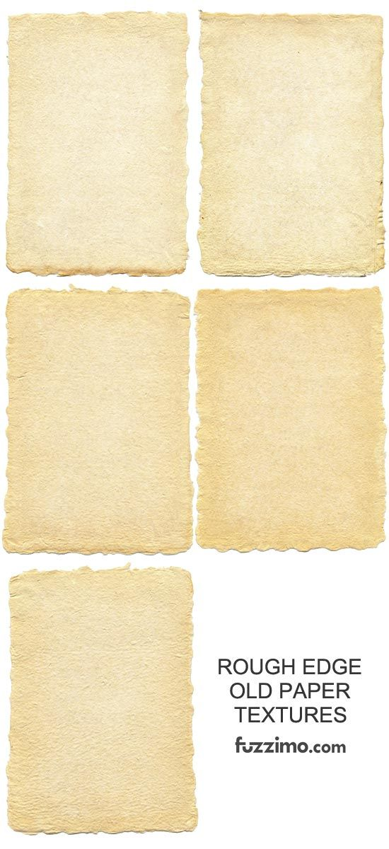 Free Rough-Edge-Grunge-Old-Paper textures from Fuzzimo