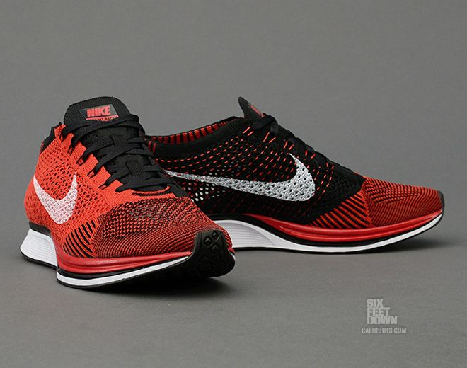 Nike Flyknit Racer - University Red / Black | KicksOnFire.com | sapatos |  Pinterest | Flyknit racer and Nike flyknit