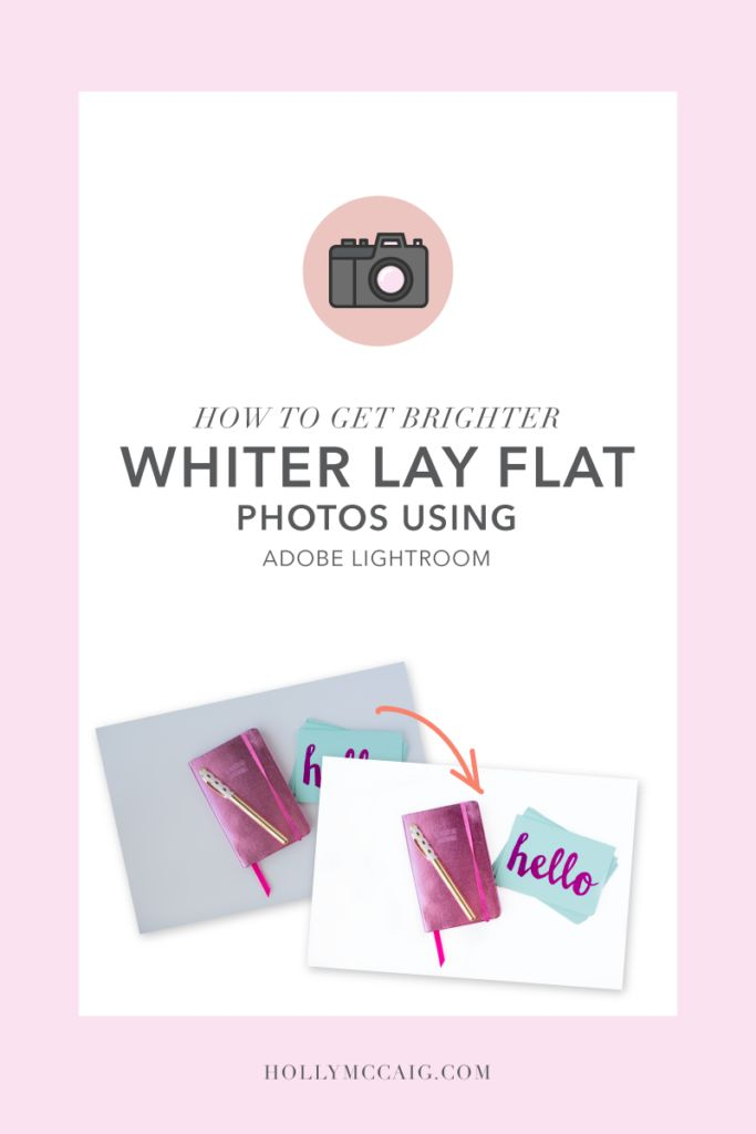 How to Get Whiter Backgrounds with Lightroom. Are your lay flat images dull? Wish the backgrounds were brighter and whiter? I have a quick, and easy video tutorial on how to achieve this with your photos in Adobe Lightroom.