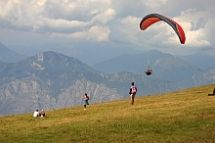 Paragliding - We offer guided paragliding tours, tandem flights and training. Breathtaking views, clear take-off and landing sites in three different wind directions and close, easy recovery access are all part of the Enkhaba experience.