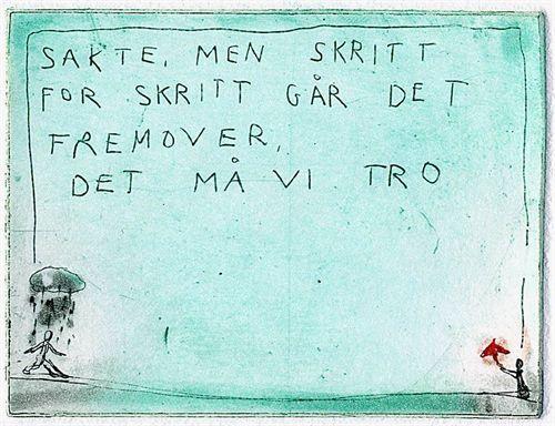 Björg Thorhallsdottir - Sakte, men skritt for skritt..