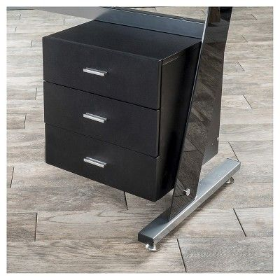 Christopher Knight Home Office Furniture Set Black