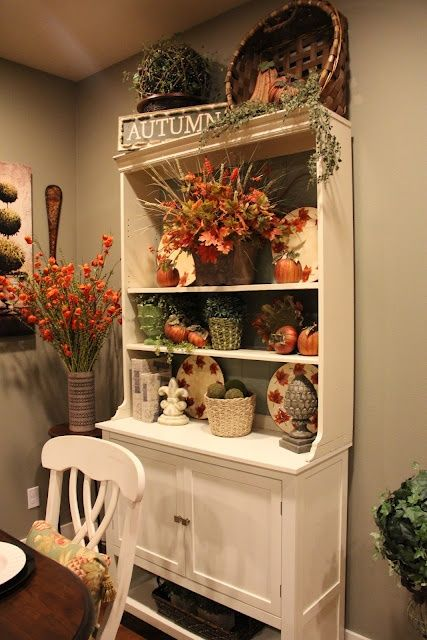 30 Beautiful And Cozy Fall Dining Room Dcor Ideas