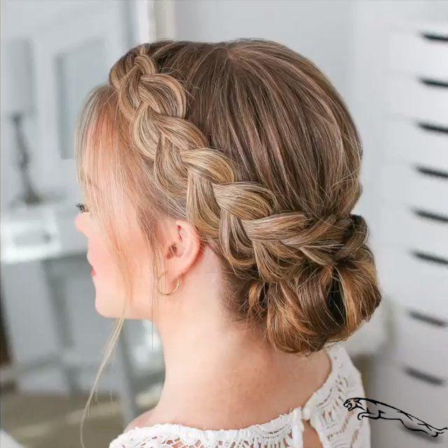 braided hairstyle video!   hair tutorial video #braidstyles #hairtutorial #hairvideos #braidedhair #dutchbraids  #geflochtenefrisuren