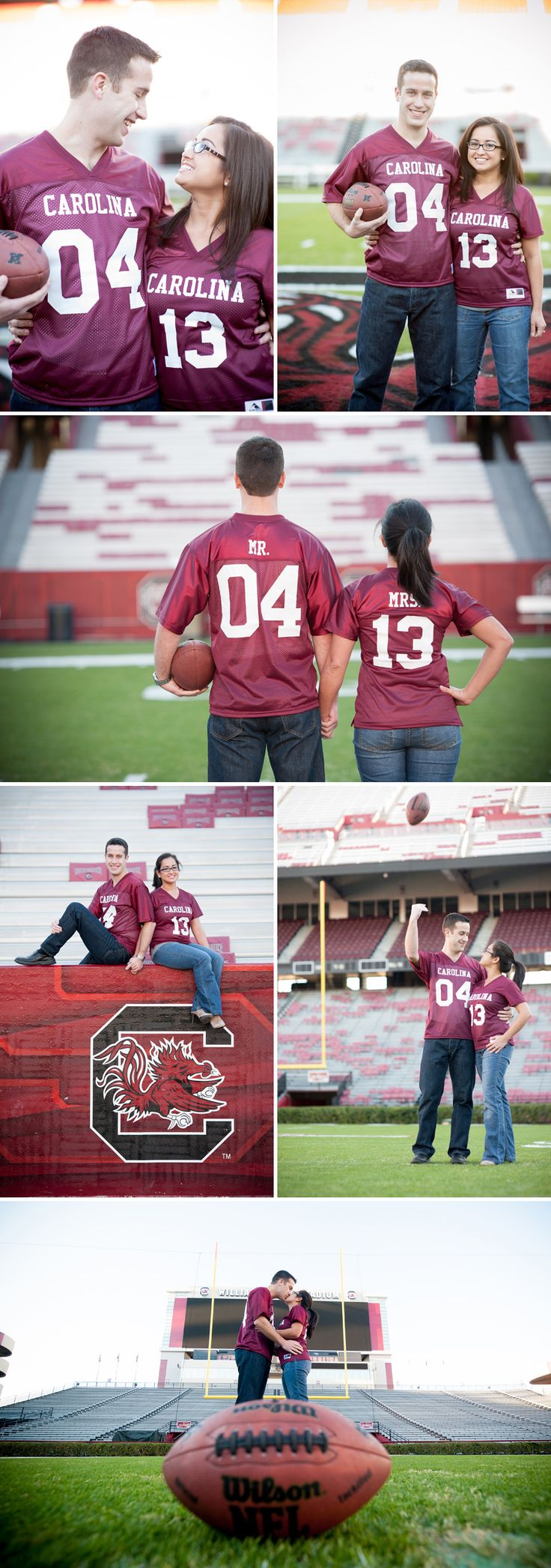 One day I hope to get engaged and Williams Brice is a great location to take engagement pictures.