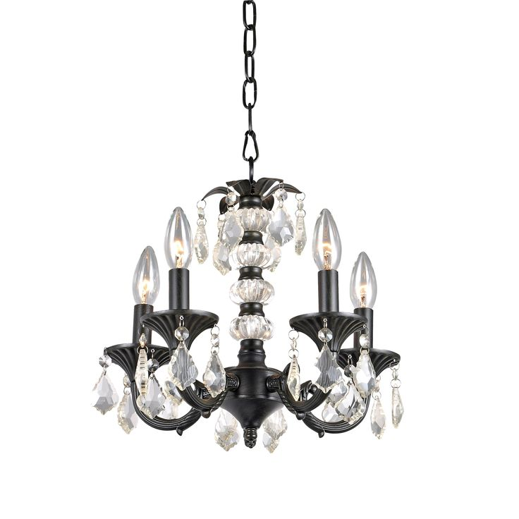 420 best chandeliers and lighting images on pinterest iron titlealisa 5 light crystal chandelier with crystal and metal baseulliantique bronzebrown brushed blackfinishthe base is made of iron aloadofball Gallery