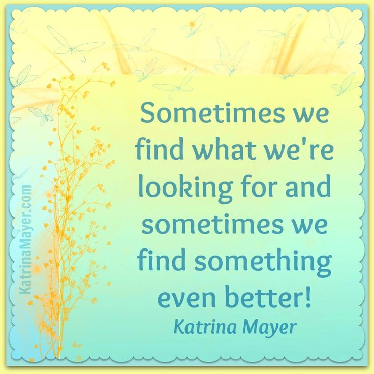 Sometimes We Let Those Better Things Go Without Realizing It Was Better.  Find This Pin And More On Quotes By Katrina Mayer. ...