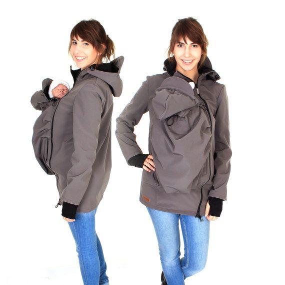Softshell ognitempo che trasportano giacca per di VivalaMamaBerlin
