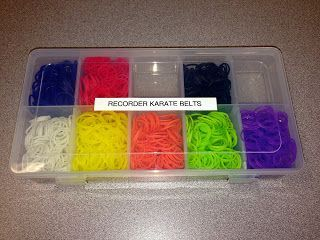 How do you organize your Recorder Karate Unit?  I love using Rainbow Loom Bands for belts!  Quick & easy! (scheduled via http://www.tailwindapp.com?utm_source=pinterest&utm_medium=twpin&utm_content=post30277230&utm_campaign=scheduler_attribution)