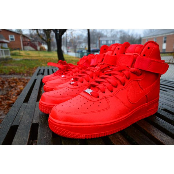 ... trainers. See More. Candy Paint Nike Air Force 1 Customs in All Red,  Blue, Green, Pink