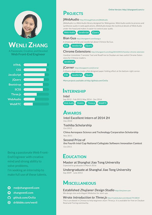 39 best resume images on Pinterest Graphics, Bill ou0027brien and - how to end a resume