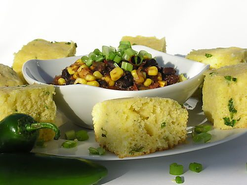 Jalapeno Cornbread | Entertaining and Party Food | Pinterest