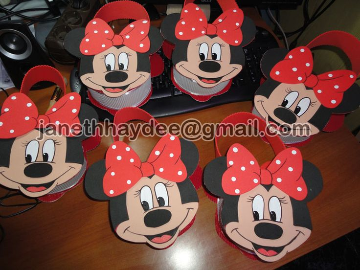 Goma eva minnie mouse manualidades en goma eva minnie - Manualidades minnie mouse ...