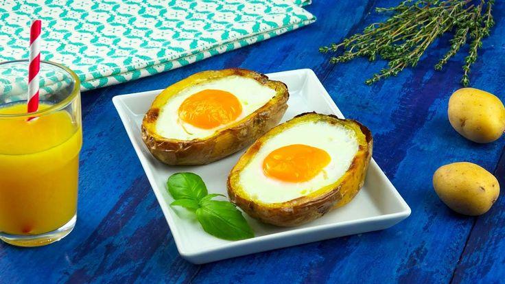 Te espera una sorpresa en el puerto: barcos de papa con huevo