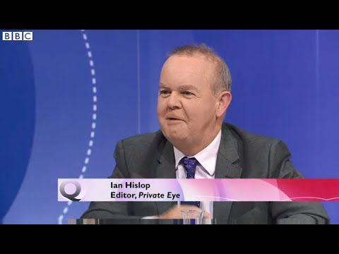 Ian Hislop on #Brexit - Even if you lose the vote you are entitled to go...