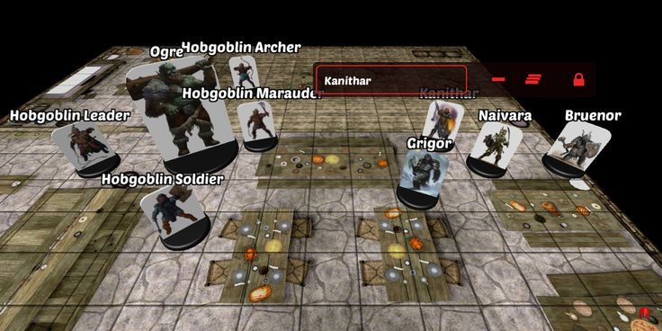 """The new """"Remove All Miniatures"""" button in 3D Virtual Tabletop"""