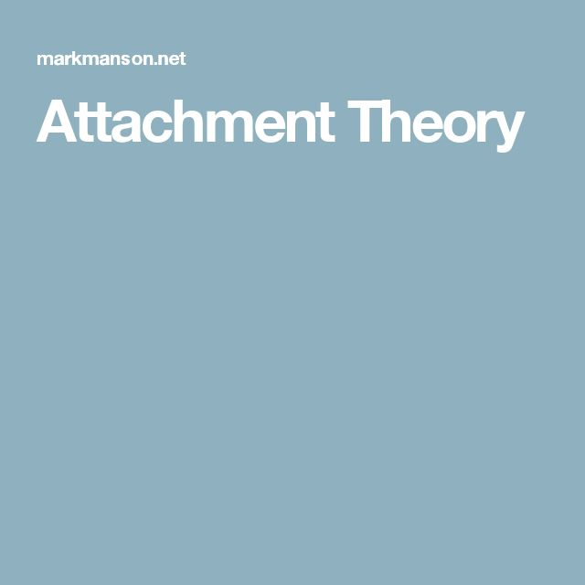 attachment theory Attachment theory in psychology originates with the seminal work of john bowlby (1958) in the 1930's john bowlby worked as a psychiatrist in a child guidance.