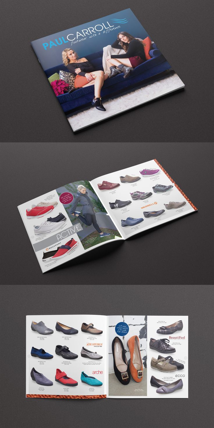 Shoe catalogue deisgn, winter 2015