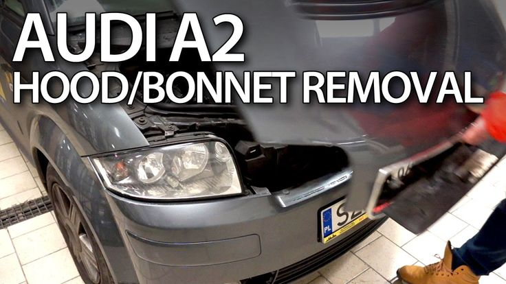 How to open the hood in #Audi #A2 #service, #maintenance, #cars