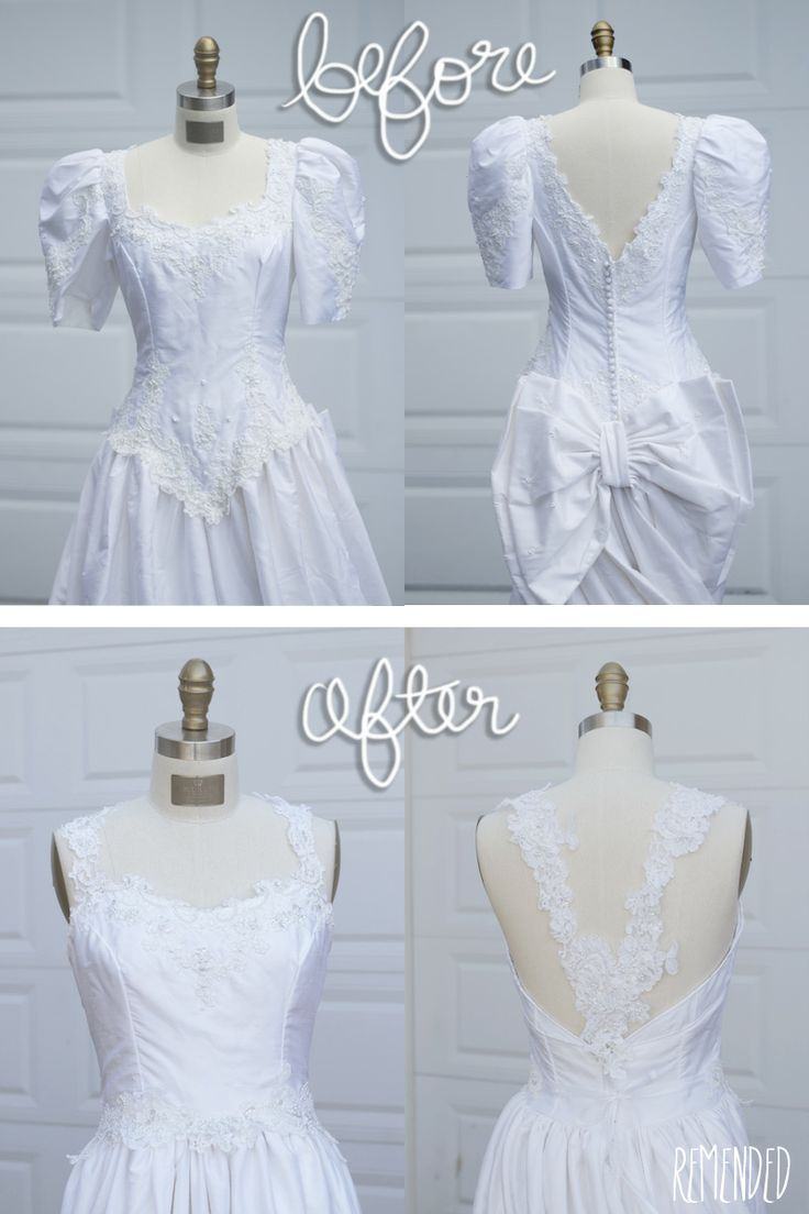 80 best Old bridal gowns redone images on Pinterest | Short wedding ...