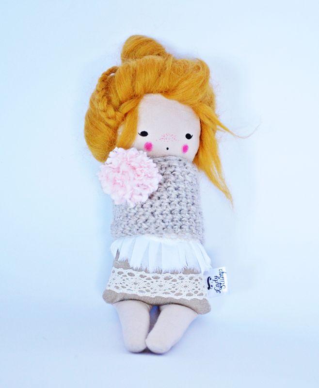 Małgorzata Kołaczyńska-Strzelecka, Zabawkarstwo,  http://polandhandmade.pl #polandhandmade, #doll, #lalka,