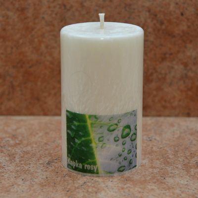 Tato svíčka s kapkou rosy se používá pro samočištění negativní energie. Intenzivně pročistí prostor od negativní energie a to i v případě, že není zapálená. Je vyrobená z palmového vosku a neuvolňuje při hoření žádné vedlejší látky, které by mohly působit nevhodně na Vaše zdraví. http://www.bombastus.cz/svicky-aromalampy-vonne-tycinky-vodni-dymky/svicky/