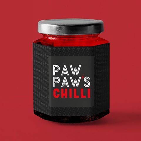Paw Paw's Chilli oil is made from a family secret recipe and has a strong and addictive flavour. They wanted a creative agency to match their taste.  .  .  .  #chilli #chillioli #typography #asian #heat graphicdesign  #graphic #packaging #branding #bringtheheat