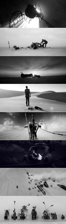 "Mad Max: Fury Road ""Black and Chrome"" Edition (via)"