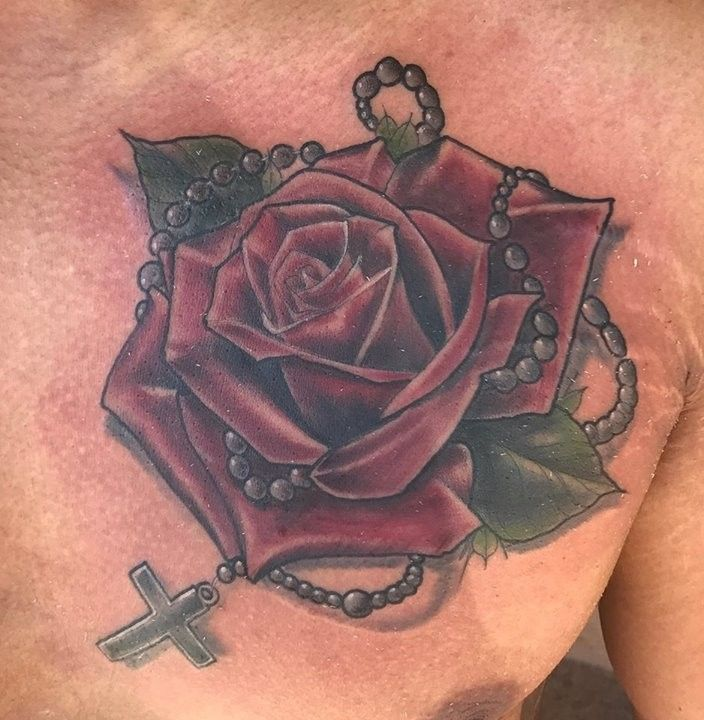 Best 25 rosary tattoos ideas on pinterest rosary tattoo for East coast tattoo body piercing