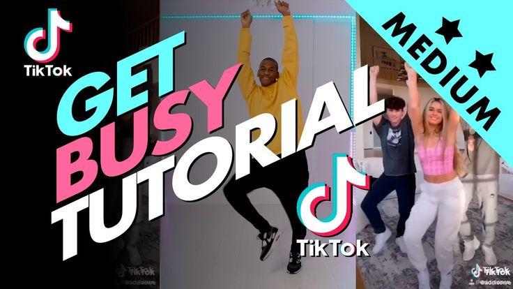 Get Busy Tik Tok Dance Tutorial Shake That Thing Vincent Vianen Youtube Online Dance Classes Tutorial Dance