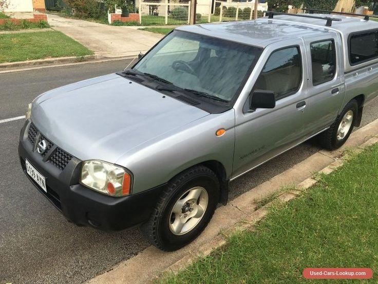 2002 Nissan Navara D22 V6 DX dual fuel LPG 187km canopy CHEAP as traded in sale #nissan #navara #forsale #australia | Cars for Sale | Pinterest | D ... & 2002 Nissan Navara D22 V6 DX dual fuel LPG 187km canopy CHEAP as ...