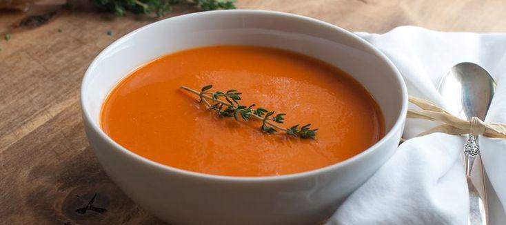Как приготовить томатный суп пюре? Восхитительный рецепт!