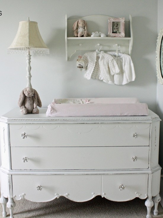 Uses For A Vintage Dresser   Changing Table. Capture The Vintage Style You  Want For Your Babyu0027s Nursery By Using A Low Vintage Dresser As A Changing  Table.