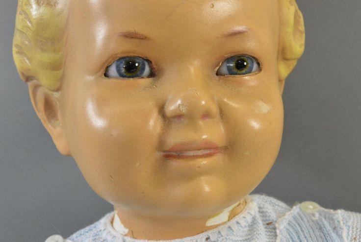 Vintage Puppen - Vintag Puppe Shabby Chic - ein Designerstück von Frau-Tausendschoen bei DaWanda