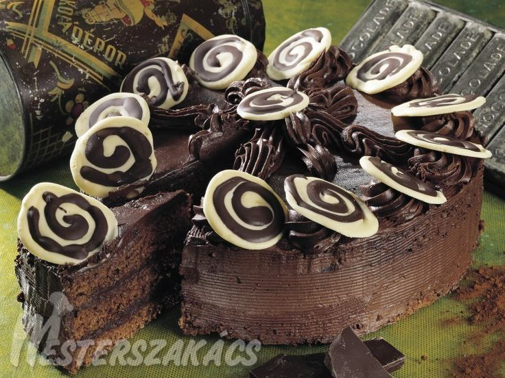 Csokoládétorta recept