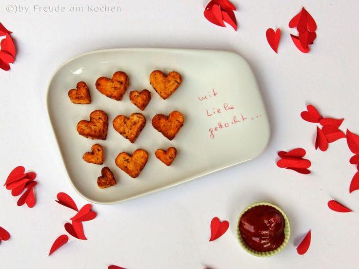 Herz Pommes Aus Dem Airfryer   Valentinstag   Freude Am Kochen