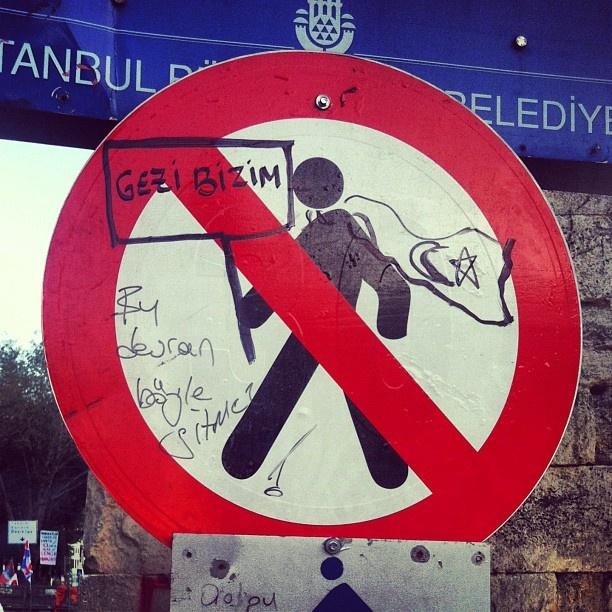 #occupyTurkey #direnGezi #occupygezi #turkey #occupytaksim #direngeziparkı #occupyturkey #Chapulling #streetart