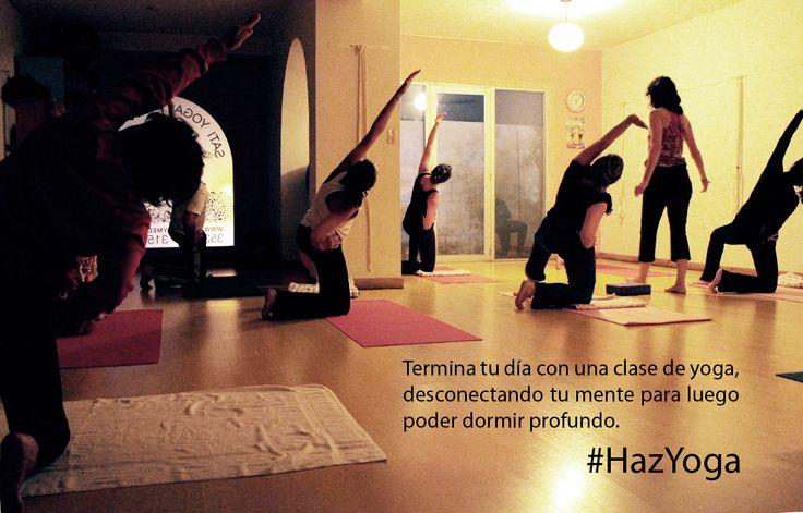 #Hazyoga en las noches para descansar profundamente.