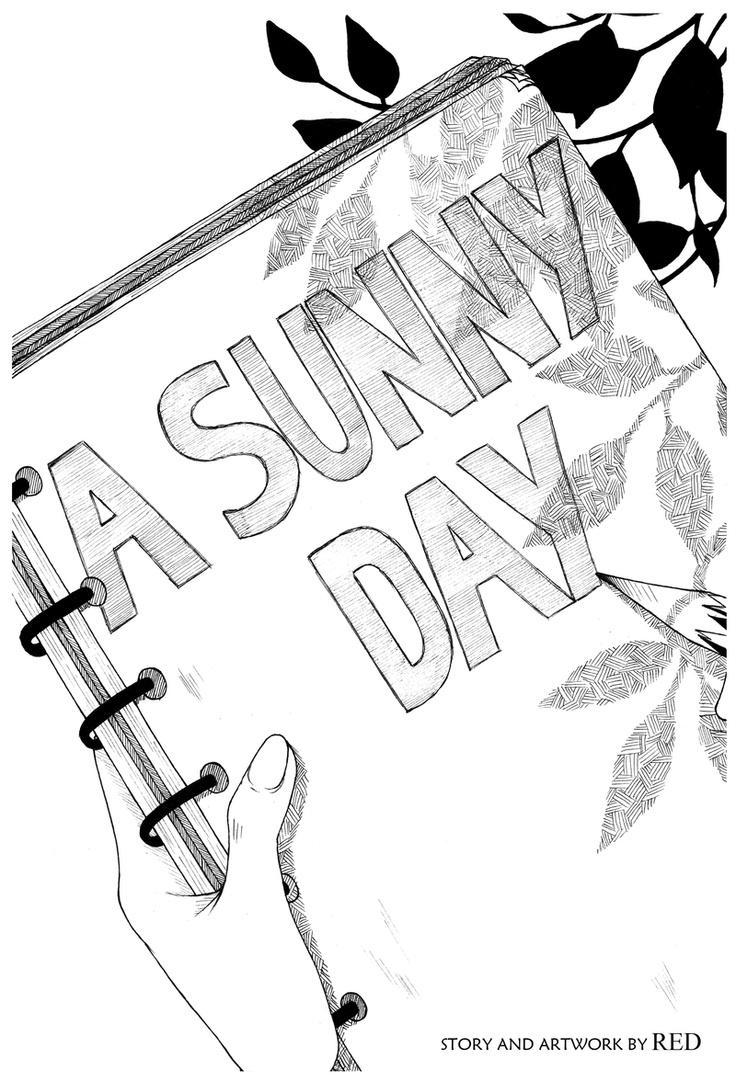 """""""A Sunny Day""""  Silent comic about a heart-warming encounter with a Japanese racoon (Tanuki).  #Tanuki #comics #webcomics #manga #Japan"""